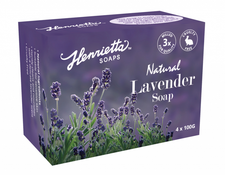 Lavender Oatmeal Soap Pack of 4x100g
