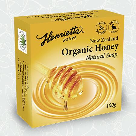 Natural-Soap-Organic-Honey-100g