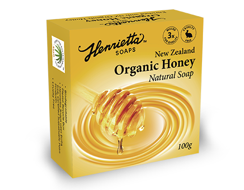 Natural-Soap-Organic-Honey-100g